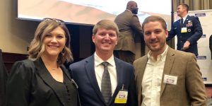 Cory Weaver (center) 2018 Veterans of Influence - Rising Star