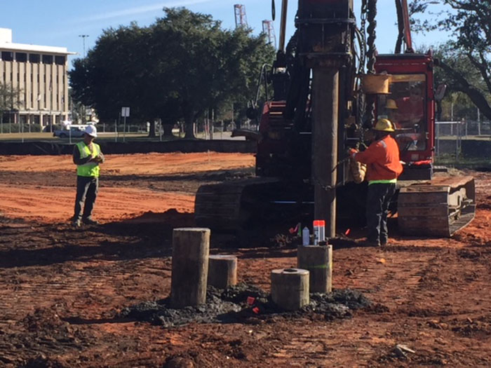 Piles - Meridian at the Port, Mobile AL