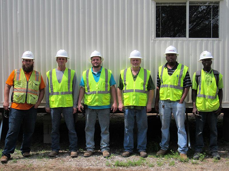 Bhate Geosciences Pensacola Staff On Construction Site