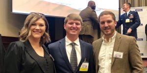 Cory Weaver (center) 2018 Veterans of Influence - Rising Star